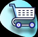 illustration of an e-commerce shopping cart